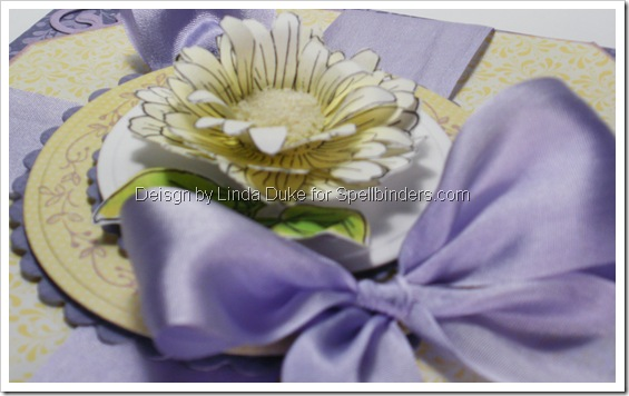 0110 LD Card Yellow and Lilac side view