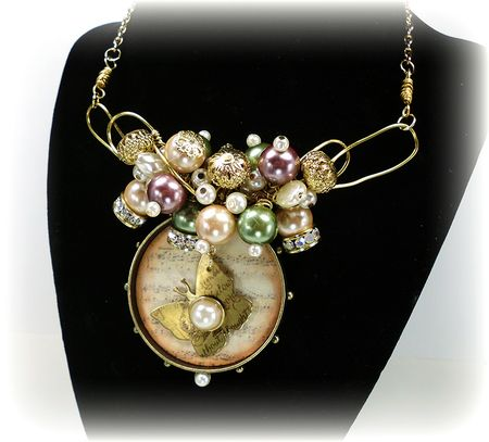 Bead necklace nwm1