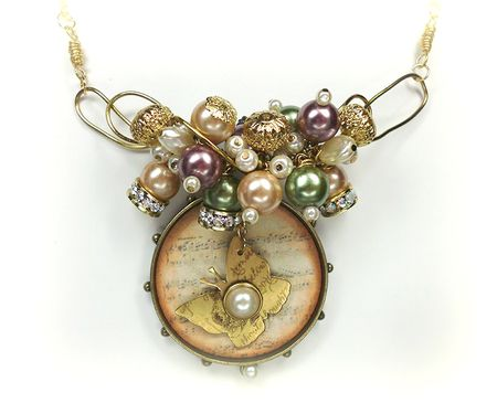 Bead necklace nwm