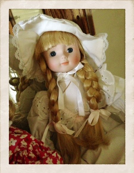 Doll with braids