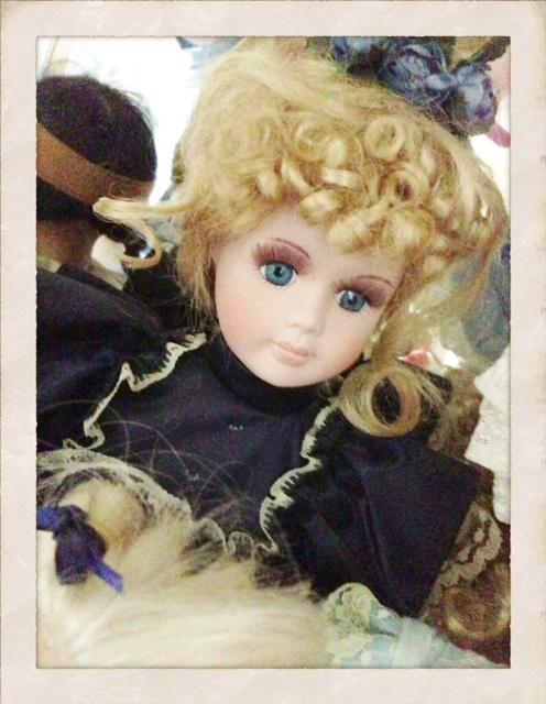 Pretty hair doll