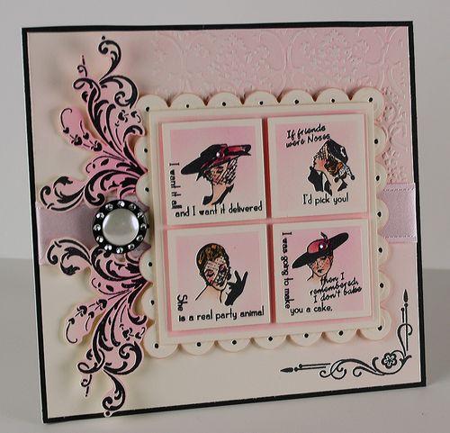 4 Ladies - Glamore Girls - Crafty Secrets