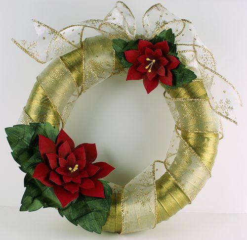 2009 Spellbinders CHA Blog Frenzy Wreath